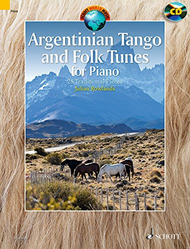 Argentinian tango and folk tunes for piano +CD - Piano