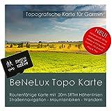 Belgien, Niederlande und Luxemburg (BeNeLux) Topo Garmin - 8GB microSD Topografische GPS Freizeitkarte für Fahrrad Wandern Touren Trekking Geocaching und Outdoor. Navigationsgeräte, PC & Mac