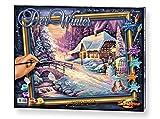 Schipper 609130504 - Malen nach Zahlen - Der Winter, 40x50 cm