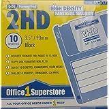 Disquette 3,51,44Mo 2HD formattato dos, noirs (conf.10)