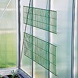 Beckmann Hängetisch für Gewächshaus grün 121 x 38 cm