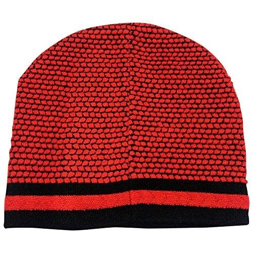 Graceway Unisex Skull Cap (4C1, Red, Free Size)