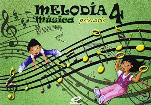 Melodía, Música, 4º Primaria - 9788497372398 por Vv.Aa