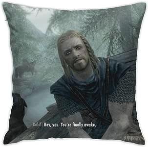 skyrim awake pillow case