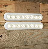 2er Set LED Touch Leuchtleiste warmweiß Batteriebetrieb 28cm Lights4fun