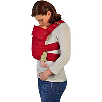 4a32c7678 Marsupi Compact Front and Hip Baby Carrier Ruby Red  Amazon.co.uk  Baby