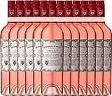 12er Paket - Doppio Passo Rosato IGT Puglia 2017 - CVCB | halbtrockener Roséwein | italienischer Sommerwein aus Apulien | 12 x 0,75 Liter