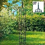 Gärtner Pötschke Rankhilfe Obelisk Empire, antik-grau