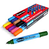 Show-me Fine-Tip Drywipe Whiteboard Pens for Schools and Classrooms – Assorted Colours (10 Pack of Markers)