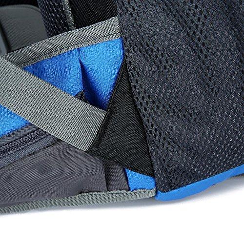 HWJF outdoor - paket camping professionelle bergsteiger freizeit rucksack zwei computer - tasche Black
