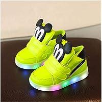 Youpin Scarpe casual per bambini con luce LED ragazzi ragazze Sneakers 2020 Primavera Cartoon Mouse illuminato Sport…