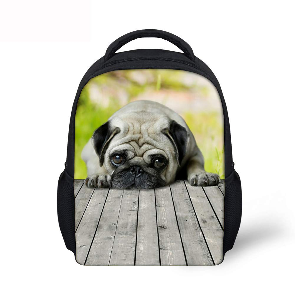 foto ufficiali 2e557 2770b Blwz Bookbags Zaino Freddo Stampato per Cani 3D per Adolescenti ...