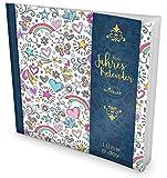 GOCKLER® 3 Jahres Kalender: 190+ Seiten Journal für 3 Jahre || Glänzendes Softcover || Ideal als Tagebuch, Notizkalender, Aufgabenplaner oder Erfolgsjournal || DesignArt.: Girl Pattern