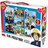 Jumbo 17338 - Fireman Sam 9-in-1 Puzzle Mix für Jumbo 17338 - Fireman Sam 9-in-1 Puzzle Mix