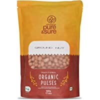 Pure and Sure Organic Ground Nut, 500g