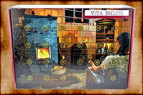 Preisvergleich Produktbild Vita Dulcis Schnaps & Likör - Adventskalender 24x0,02l + 56-seitige Broschüre