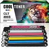 Cool Toner 1 Set Kompatibel für Samsung CLT-K406S CLT-C406S CLT-Y406S CLT-M406S für Samsung C410w C460W Toner Samsung CLX3305 CLX 3300 CLX 3305W CLX3305FW Toner Samsung CLP 365 CLP365 CLP 365W Toner