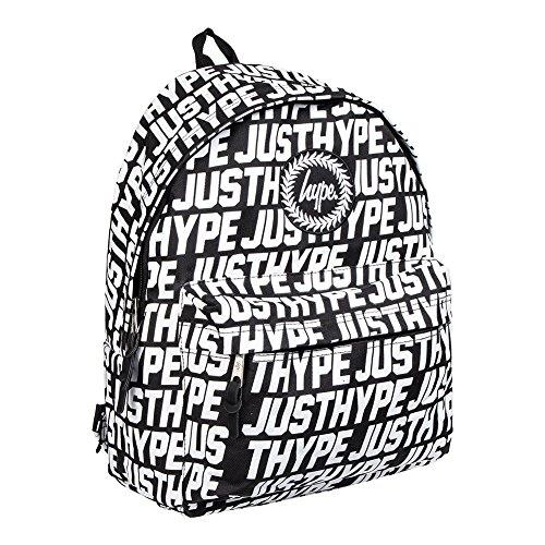 d84c53c889 Hype Sporting Just Hype Black White Backpack Rucksack Bag - Ideal School  Bags - Rucksack For Boys and Girls - Buy Online in Oman.