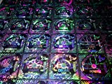 #8: Pinnacle Ready Made Holograms and Labels(25 Mm * 25 Mm Square Silver- 500 Holograms)