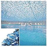 Tarnnetz Blau, 3x5m Gartenbalkon Sonnenschirm Dekoration Armee Camouflage Netz Camping Jagd Schießen Versteckte Gebäude Unterstände Party Schwimmbad Pavillon Carport 2m4m6m8m10m ( Size : 2*3M )