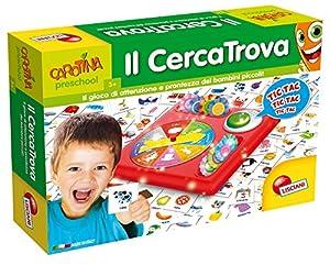 Lisciani 56583 Niños Juego educativo - Juego de tablero (Juego educativo, Niños, Niño/niña, 3 año(s), 6 año(s), 200 pieza(s)) , Modelos/colores Surtidos, 1 Unidad