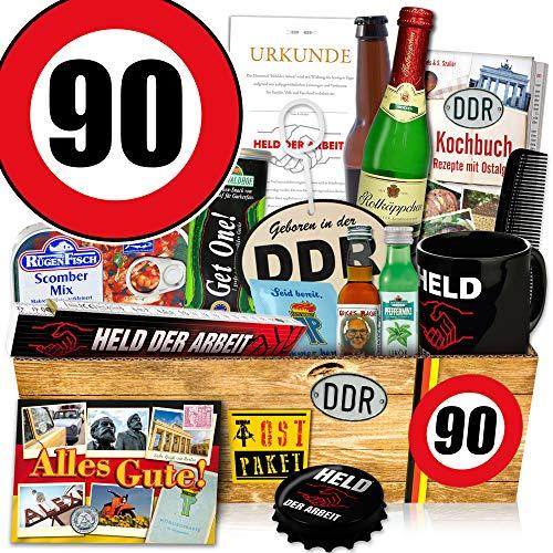 Männerset DDR  Zahl 90   Geschenk Box Vater   DDR Waren