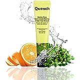 Quench Botanics Mama Cica Dark Circle Fading Under Eye Cream | with Relaxing Roller Ball Applicator | Reduces Dark Circles, P