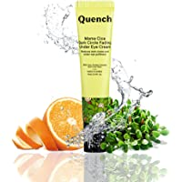Quench Botanics Mama Cica Dark Circle Fading Under Eye Cream   with Relaxing Roller Ball Applicator   Reduces Dark…