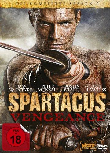 Spartacus: Fiercely - Die komplette Season 2 [4 DVDs]