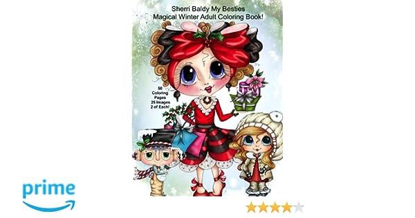 Sherri Baldy My Besties Magical Winter Coloring Book Amazon
