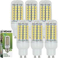 MENGS® 6 pezzi GU10 9W Lampada LED 69x 5050 SMD LEDs Lampadina AC 220-240V Bianco freddo 6500K