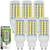 MENGS® 6 Stück GU10 LED Lampe 9W AC 220-240V Warmweiß 3000K 69x5050 SMD