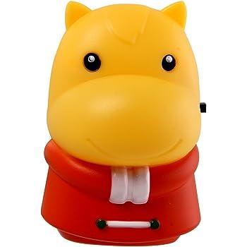 Havells Adore Rhino 0.5-Watt LED Night Lite (Red and Yellow)