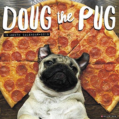 Official Doug the Pug 2018 Wall Calendar
