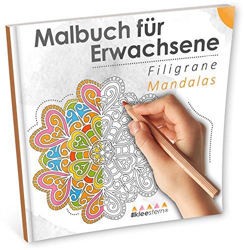 Malbuch für Erwachsene: Filigrane Mandalas (Ausmalen, Entspannen & Träumen): Volume 3 por Kleestern Malbücher