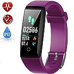 HETP Fitness Tracker Cardiofrequenzimetro, Orologio Fitness Impermeabile IP67 Activity Tracker GPS Pedometro da Polso...