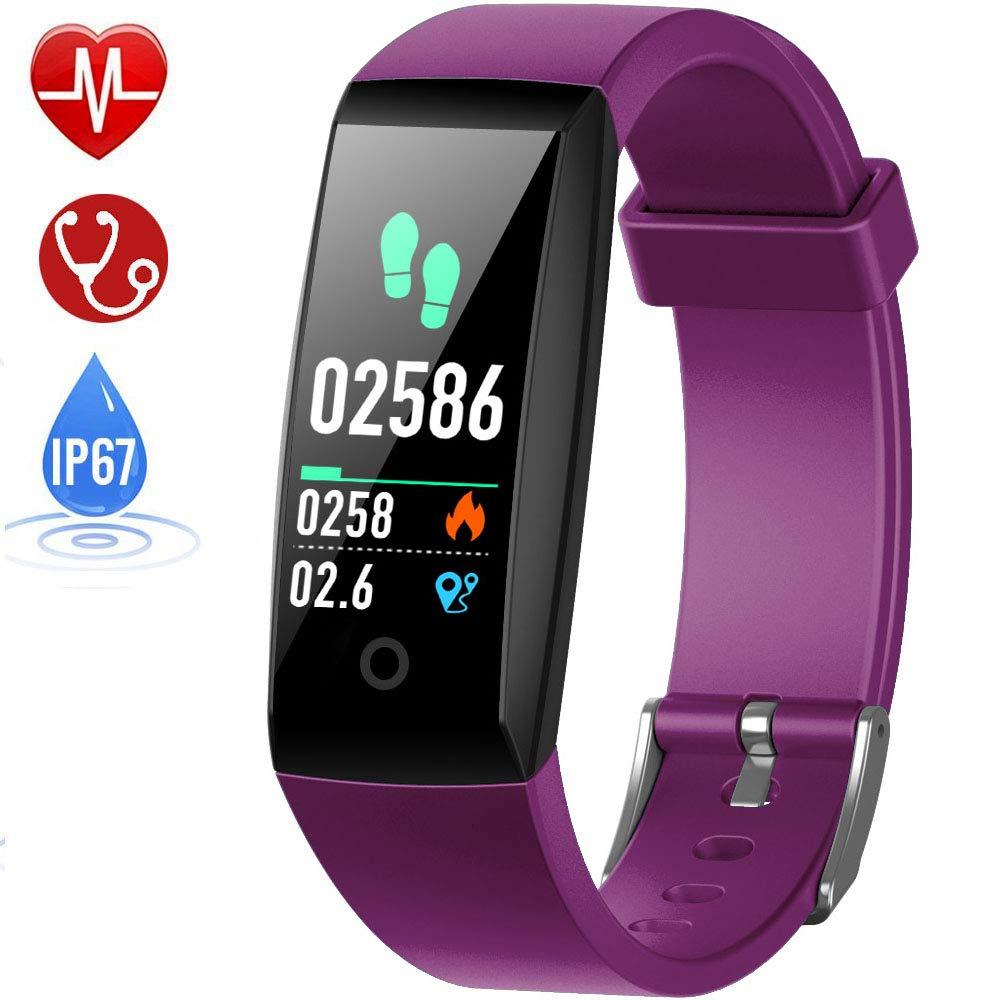 HETP Montre Connectée Cardiofréquencemètre Bracelet..