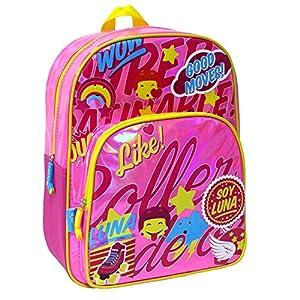 Soy Luna-Soy Mochila Juvenil con Gran Capacidad de Guardar (Toy Bags 017)