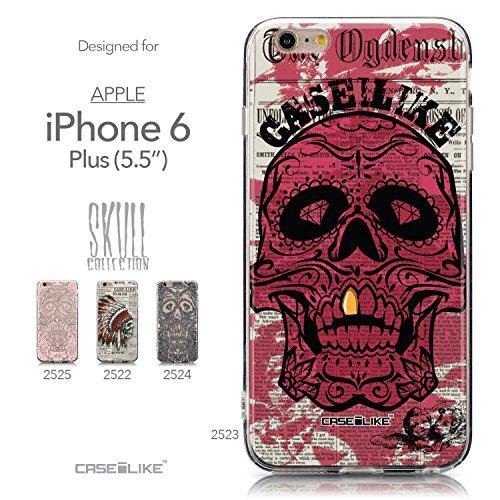 CASEiLIKE Art Mandala 2093 Housse Étui UltraSlim Bumper et Back for Apple iPhone 6 / 6S Plus (5.5 inch) +Protecteur d'écran+Stylets rétractables (couleur aléatoire) 2523