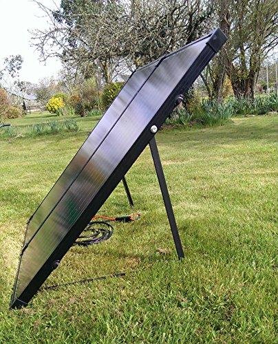 READY TO GO! NEW 150W FOLDING Portable Solar Panel kit TITAN-ENERGY UK for CARAVANS MOTORHOMES