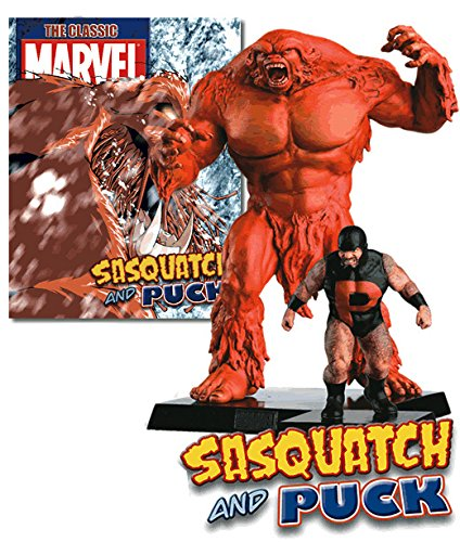 Marvel Figurine Collection Special Sasquatch & Puck -