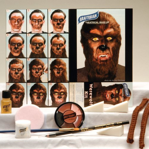 Werwolf Make-up Themen Kit