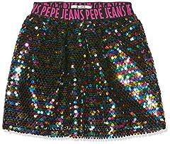 Idea Regalo - Pepe Jeans Sara, Gonna Bambina, (Multi Bleu 0aa)