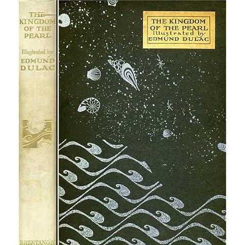 EDMUND DULAC el Kingdomn of The Pearl First Edition diseño de Art 250gsm cuadro decorativo brillante A3 de póster