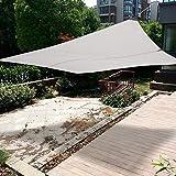 Yosoo Tenda ombreggiante,Vela ombra da esterni ,Copertura Sole Ombra Giardino Tessuto Ombreggiante quadrato, per feste in giardino,3m*4m