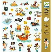 Djeco–02201666–Stickers, Pirate Design