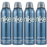 Nike Men Sea Breeze Deodorant Combo Pack Of 4 (200ml Each)