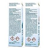 Biotraxx Wasseraufbereiter CLASSIC 1:1 Set 1x Natriumchloritlösung + 1x Aktivator, Salzsäure 5% (2x 100 ml) im hochwertigen Violettglas - 2
