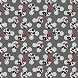Springs Creative Stoffe, Mickey Mouse, 100% Baumwolle, 0,5