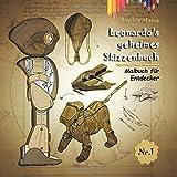 Leonardos geheimes Skizzenbuch: Malbuch für Entdecker - Sophie Mama